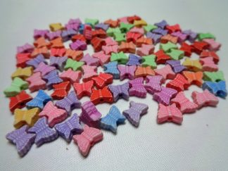 Resin Butterfly Beads