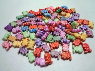 Resin Frog Beads