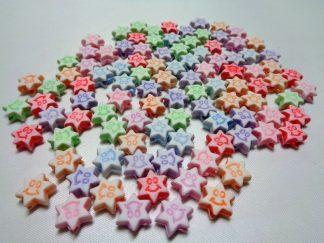 Resin Star Beads