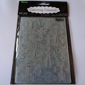 Crosses Embossing Folder
