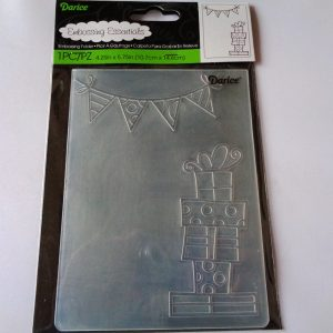 Presents and Banner Embossing Folder