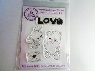 A6 Clear Photopolymer Love Stamp Set
