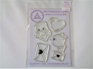 Love Birds Stamps - A6 Clear Photopolymer