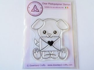 A7 Clear Photopolymer Sending Love Stamp
