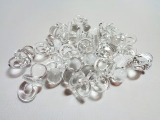 Clear Acrylic Baby Dummies For Cardmaking and Crafts