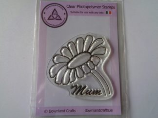 A7 Clear Photopolymer Daisy For Mum Stamp