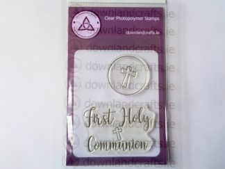 First Holy Communion A7 Clear Photopolymer Stamp Set