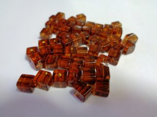 Glass Cube Beads