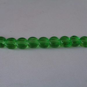 6mm Green Glass Coins