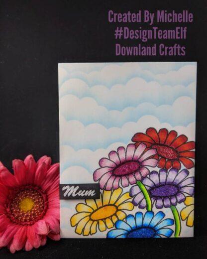 Flower For Mum Card Sample