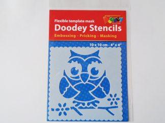 "10cm x 10cm (4"" x 4"") Stencils"