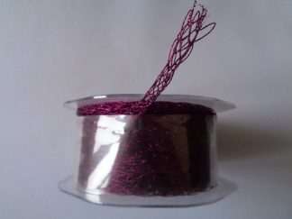 15 Metre Reel of 6mm Netted Tube Purple