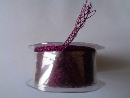 15 Metre Reel of 6mm Netted Tube Purple