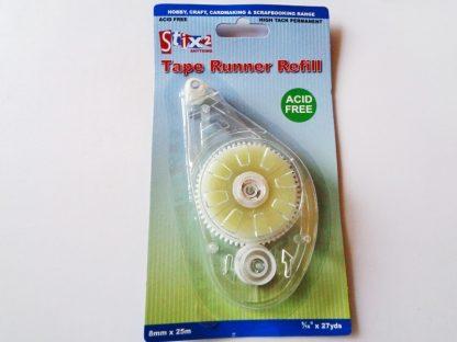 Tape Runner Refill 8mm x 25m