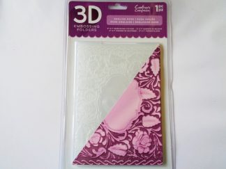 "5"" x 7"" 3D Embossing Folder English Rose"
