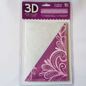"5"" x 7"" 3D Embossing Folder Ornate Lace"