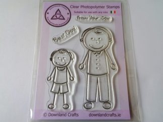 A6 Clear Photopolymer From Your Son Stamp Set