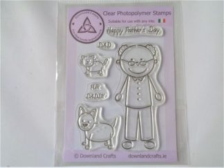 Fur Daddy Stamps - A6 Clear Photopolymer