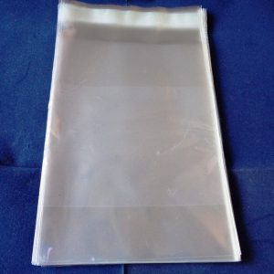 "Pack of 50 Cellophane Bags 5"" x 7"" Self Seal"