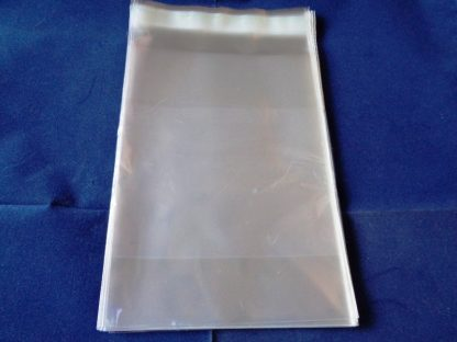 """Pack of 50 Cellophane Bags 5"""" x 7"""" Self Seal"""