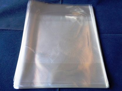 """Pack of 50 Cellophane Bags 6"""" Square Non Self Seal"""