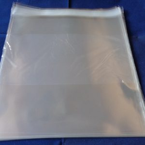 "Pack of 50 Cellophane Bags 8"" Square Self Seal"