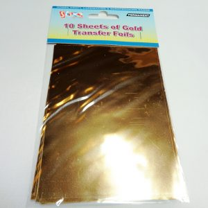 Transfer Foil Sheets Gold
