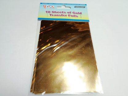 Transfer Foil Sheets Gold