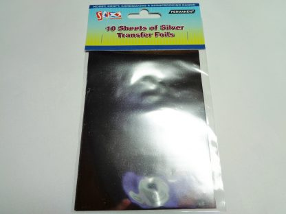 Transfer Foil Sheets Silver
