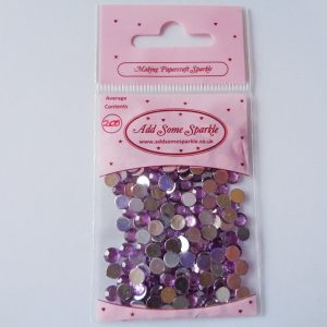 5mm Acrylic Gems Lilac (approx 200)