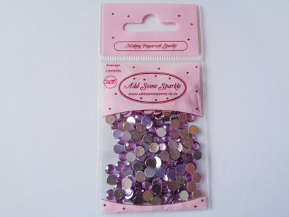 5mm Acrylic Gems Lilac (approx 200)