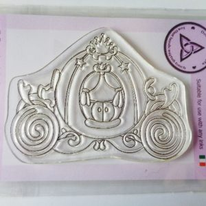 A7 Clear Photopolymer Carriage Stamp