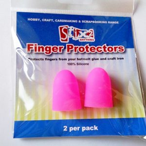 Pack of 2 Silicone Finger Protectors