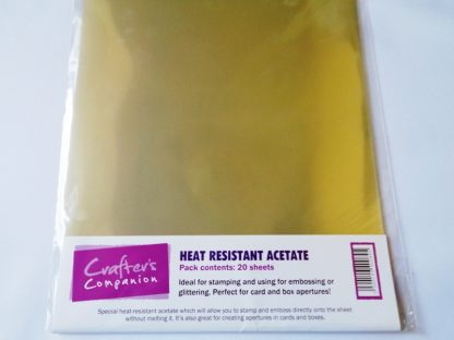 Pack of 20 A4 Sheets 100 micron Heat Resistant Acetate