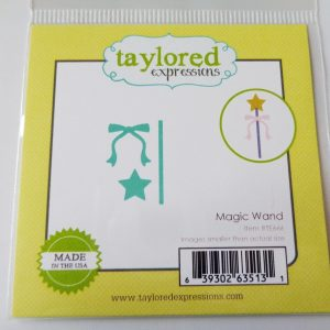 Taylored Expressions Little Bits Dies Magic Wand