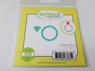Taylored Expressions Little Bits Dies Wedding Ring
