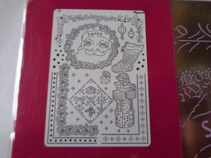 Pergamano A5 Multi Grid 30 Victorian Christmas (approx 21cms x 14.8cms)