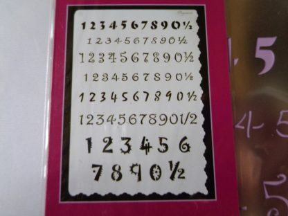 Pergamano A5 Multi Grid 18 Numbers (approx 21cms x 14.8cms)