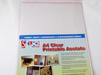 Pack of 5 A4 Sheets 100 micron Printable Acetate