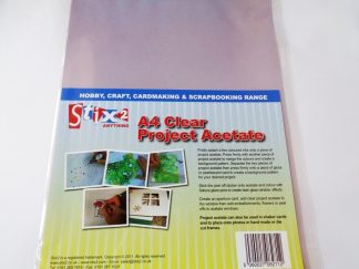 Pack of 5 A4 Sheets 100 micron Project Acetate