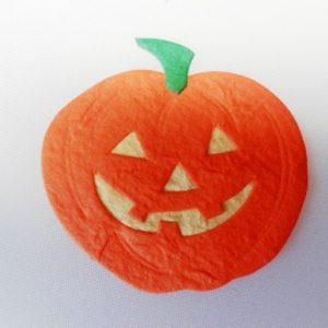 Pack of 5 x Pumpkin Die Cut Toppers (50mm x 50mm)