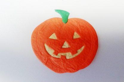 Pack of 5 x Pumpkin Die Cut Toppers (50mm x 50mm)