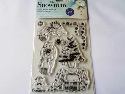 The Snowman Clear Acrylic Stamp Set