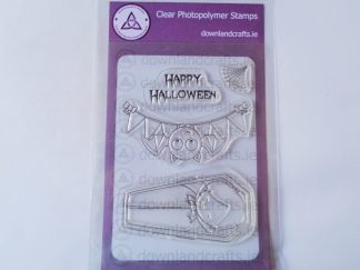 Happy Halloween A6 Clear Photopolymer Stamp Set