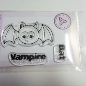 Vampire Bat A7 Clear Photopolymer Stamp Set