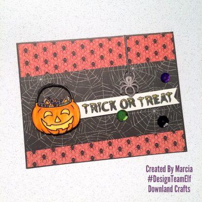 Trick Or Treat Stamp Set Card Sample 5
