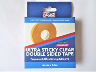 Ultra Sticky Tape - 6mmx16m