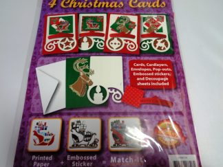Christmas Purple Card Kit (Makes 4)