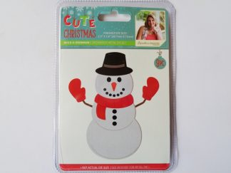 Cute Christmas Metal Die Build-a-Snowman