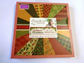 "Traditional Christmas 6"" x 6"" Paper Pad"